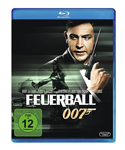 James Bond - Feuerball [Blu-ray] (James Bond Connery)