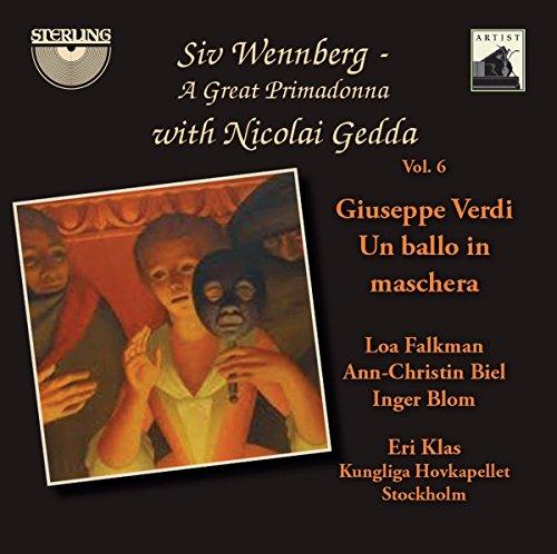 Siv Wennberg - A Great Primadonna (Volume 6) - Un Ballo in maschera