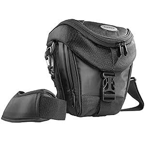 Mantona-Custodia-fondina per fotocamera reflex, colore: nero