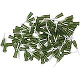 """Cnbtr 1/2 """"punta de plástico y PP espiral Industrial Dispensing Blunt Tip Pack de aguja de 100"""