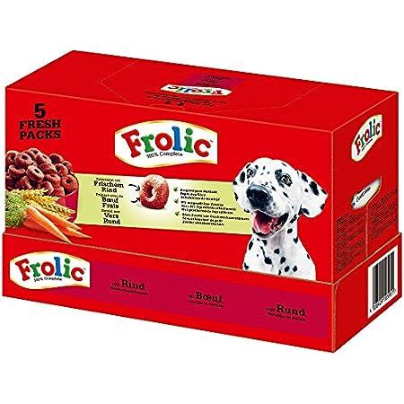 Frolic Hundefutter – Trockenfutter für kleine, mittlere und große Hunde, verschiedene Sorten