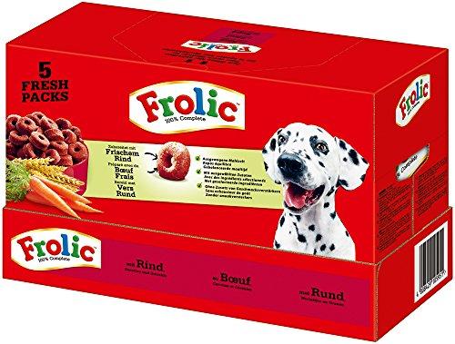 Rebekah Ginda Complete Perros Forro vacuno zanahorias y cereales, 5 x 1.5kg...