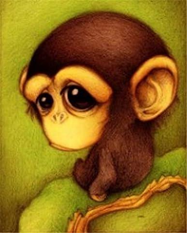 yeesam Art neuen 5D Diamant Painting Kit–Cute Cartoon Tiere 28*