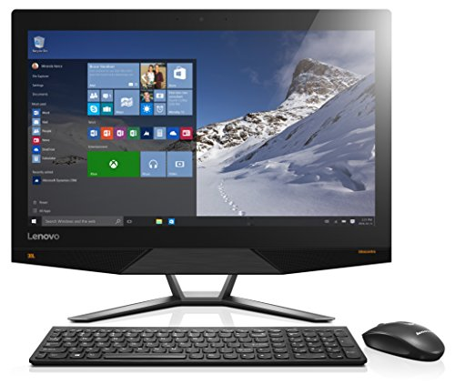 Lenovo ideacentre AIO 700 60,45 cm (23,8 Zoll Full HD) All-in-One Desktop-PC (AMD A10-8750 Quad-Core Prozessor, 4GHz, 4GB RAM, 1TB HDD + 8GB SSDH, AMD R7 A360, 2GB, DVD-Brenner, Windows 10) schwarz (In One-desktop-a10 All)