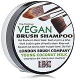 London Brush Company Makeup Pinsel Seife LBC Vegan Solid Brush Shampoo: Young Coconut 1oz, 1 Stück