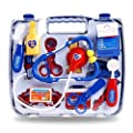 New Kids Childrens Nurse Doctors Medical Play Set Role Play Fun Box Fancy Dress