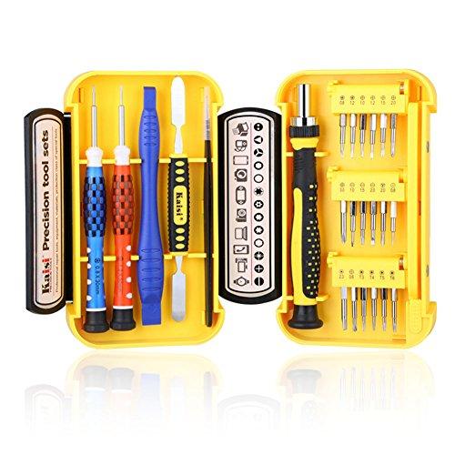 Preisvergleich Produktbild EMOTREE 24-in-1 Set Werkzeug Tools Schraubendreher für iPad iPhone Handy Smartphone TV Uhr Reparatur