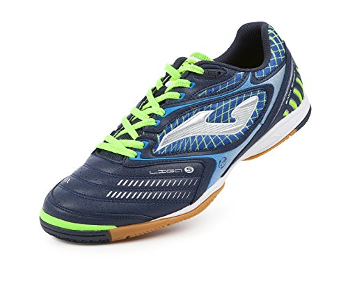 JOMA CALCETTO LIGA-5 603 NAVY-FLUOR INDOOR 47