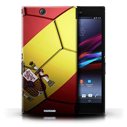 Kobalt® Imprimé Etui / Coque pour Sony Xperia Z Ultra / Allemagne conception / Série Nations de Football Espagne/Espagnol