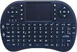 Rii Mini i8 Bluetooth (layout ITALIANO) - Mini tastiera con mouse touchpad per Tablet, Smartphone, Mini PC, Computer, PlayStation, HTPC immagine