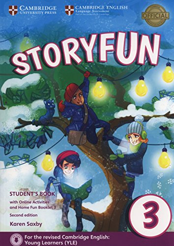 Storyfun for Movers Level 3 Student's Book with Online Activities and Home Fun Booklet 3 Second Edition por Karen Saxby