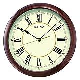 Seiko Wood Effect Wall Clock QXA598A Brand New