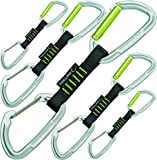 Edelrid Express Slash Wire Set VPE 100, Night/Oasis, 10 cm, 719910102190