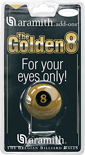 "Poolball ""The Golden 8"" Aramith 57.2 mm"