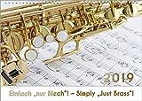 Blasinstrumente - Musik-Kalender 2019, DIN-A3: Einfach