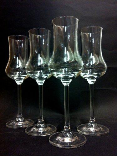 6 er Set Rastal Grappa Grappagläser Nosing Gläser Glas 9 cl Mit Eeichstrich 2 cl 4 cl Tasting