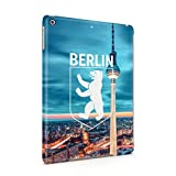 Berlin Televison Tower Coat Of Arms Of Berlin Bear Emblem Hard Thin Plastic Tablet Case Cover For iPad Air 1