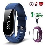 Fitness Tracker [Verbesserte Version] mit Herzfrequenzmesser