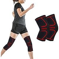 Gogo 2Packungen Kniebandage, Kompression, zur Unterstützung bei Sport, Gelenkschmerzlinderung, Genesung, Bandage preisvergleich bei billige-tabletten.eu