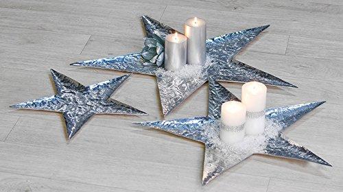 Casablanca Design Schale Flat Star Stern 33158 33159 Winterprospekt 2014 Wohnen & Schenken, Größe:41cm