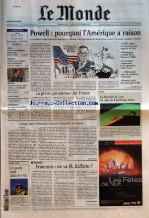 Du Commerce De La Souris - MONDE (LE) [No 17922] du 08/09/2002 -