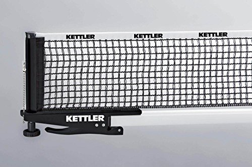 Kettler Tischtennis Netzgarnitur Clip (Farbe: 200 schwarz)