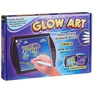 Glow Art R3-BLK Drawing Board, Black