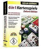 Kartenspiele Box Gold Edition - Skat, Poker, Doppelkopf, Schafkopf, Rommé, Canasta -