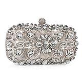 Abendtasche Damen Diamant Clutch Bag Kette Shiny Handtasche für Hochzeit Party - Aprikose Golden
