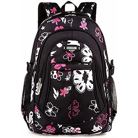 Luce di alleggerimento schoolbags impermeabile zaino bambini zaino