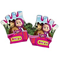 Guantes Niño Niña Infantil Masha and The Bear Orso para Bicicleta 80214 6157