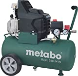 Metabo Kompressor Basic 250-24W, Max. Druck 8 Bar