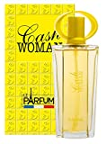Le Parfum de France Cash Woman - Eau de toilette para mujer, 75 ml