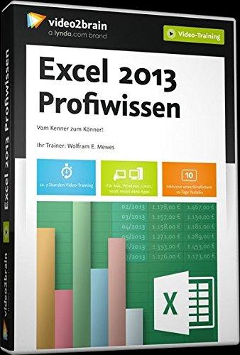 Excel 2013 - Profiwissen Excel-software Herunterladen