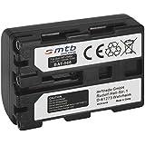 mr!tech | Batterie Haute Performance | Remplacement pour Sony NP-FM50 | Compatible avec: DCR-DVD91, DVD91E, DVD100, DVD100E, DVD101, DVD101E, DVD200, DVD200E, DVD201, DVD201E, DVD300, PC101, PC103E, PC105E, PC110, PC115, PC120E, PC330, PC9, PC9E, TRV10, TRV11, TRV12E, TRV14E, TRV140, TRV145E, TRV15, TRV16, TRV17, TRV18, TRV19E, TRV20, TRV22E, TRV23, TRV230, TRV24, TRV240, TRV245, TRV25, TRV250E, TRV255, TRV265E, TRV285E