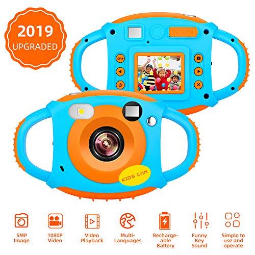 Kinderkamera 1080P HD 5MP Kinder Digitalkamera Kinder Kamera 1,77 Zoll Bildschirm Mini Wiederaufladbare Kamera Kinder Videokamera Für Jungs Geschenk