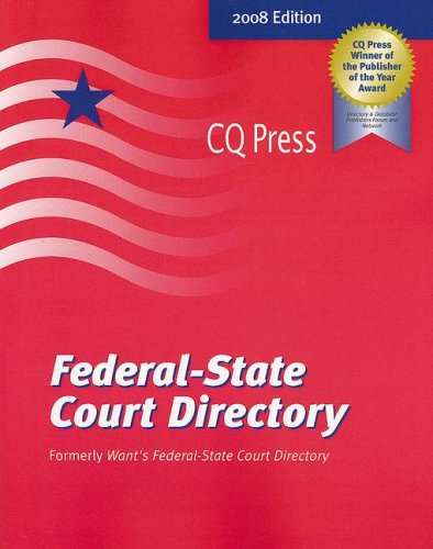 Federal-State Court Directory: Federal Judges-Clerks of Court-Federal Court Web Sties