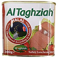 ‏‪Al-Taghaziah Luncheon Turkey, 340 gm‬‏