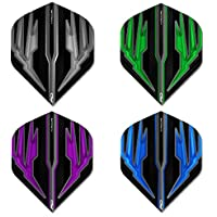 Red Dragon Hardcore Selection Pack Extra Dicke Standard Dart Flights, Checkout Card