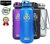 MIGHTY PEAKS TRITAN Trinkflasche-Sport Auslaufsicher | BPA frei | 500ml / 650ml / 1000ml / 1500ml | Trinkflasche Kinder | Plastikflasche | Wasser-Flasche | Schule, Outdoor, Fahrrad, Camping, Yoga