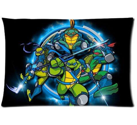 FFfghdde Teenage Mutant Ninja Turtles Kopfkissen Custom 50,8x 76,2cm Zwei Seiten Cool Bequem Kissen Fall