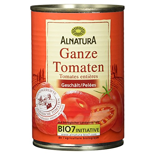 Alnatura Bio ganze Tomaten, 400 g