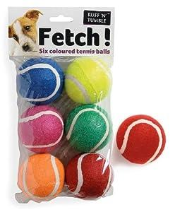 Fetsch! Tennisbälle in sechs Farben