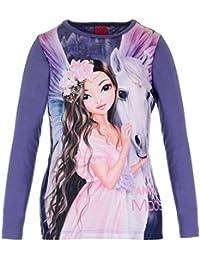 Filles Top Model Shirt, violet
