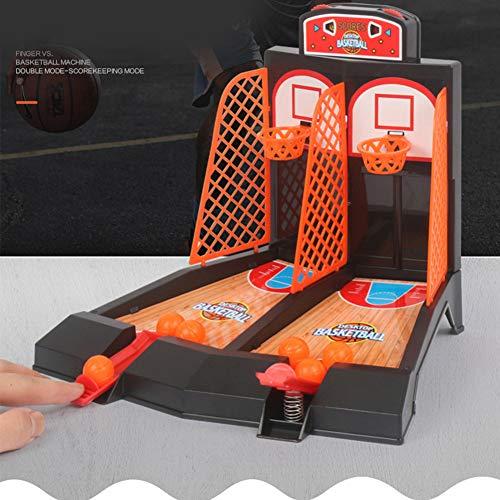 SEGRJ Mini-Basketball-Spielzeug, für Familie, Sport, Zuhause, Korbbbälle, Geschenk einfarbig
