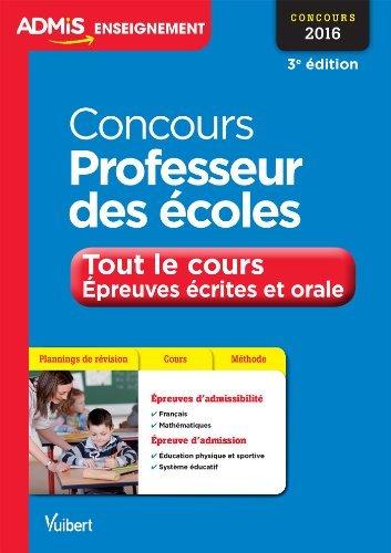 Concours Professeur des écoles - Entret...
