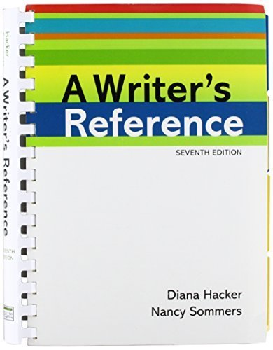 Writer's Reference 7e & Models for Writers 11e & CompClass for A Writer's Reference 7e (Access Card) 7th edition by Hacker, Diana, Sommers, Nancy, Rosa, Alfred, Eschholz, Paul (2012) Paperback