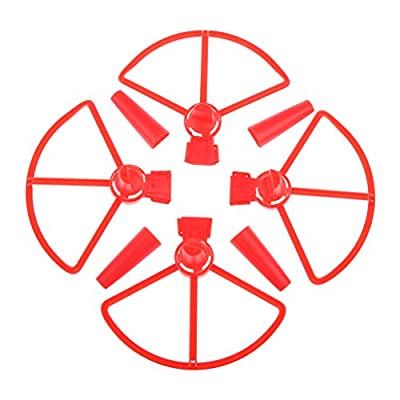 Sharplace 4 Pieces Propeller Bumper Guard + Landing Gear Protector Cover for DJI Spark