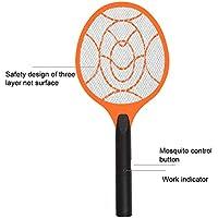 GEZICHTA Mosquito Killer Schläger, 3Schichten Bug Schläger, Elektrische Fliegenklatsche, Mosquito Swatter Mosquito Killer Elektrische Tennis Bat Handheld Schläger Insekten Fly Bug Wasp Röhrich