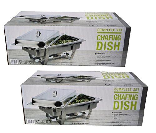 Chafing Dish Chef - Bufets calentadores de platos (2 unidades) y...
